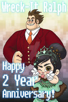 WIR-Happy 2 Years! by queenbean3