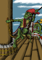 Conflicting Kingdoms: Pirates by Starflier