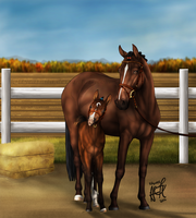 GCaballo Autumn Event - I'm A Pretty Boy by KittycatNita