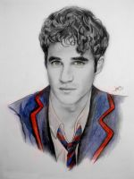 Darren Criss blaine anderson by karlyilustraciones