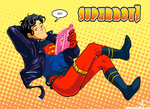 YO SUPERBOY by d00li