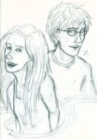 Ginny and Harry by Evanola
