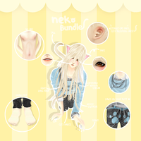 IMVU NEKO BUNDLE by Yeorim