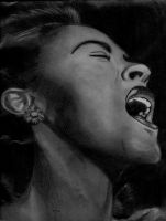 Billie Holiday by mixtapegoddess