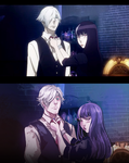 Death Parade Redraw by MyDearBasil