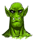 Orc by noobaka