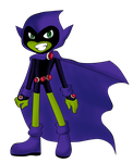 Raven The Gothic  Beast Boy by BeastGreen
