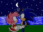 Sonic And Amy (Soinc X Style) 2nd Version by trueloveheart94