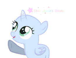 ~my First Filly Base~yay by StarChaseSketches