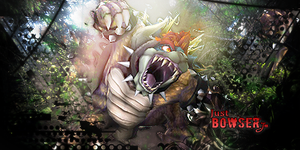 just bowser by tm-gfx