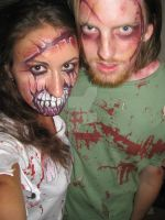 Zombiest Couple by Ms-Anthropic