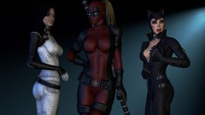Catsuits! by notsodamndeviant