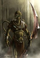 Mai N'der - Project Antharra by SkavenZverov