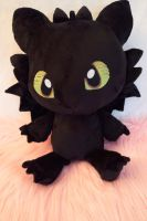 Baby Toothless Plush by Fafatacle