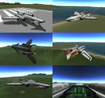 Kerbal Space Program - Experimental Plane 2 by Shroomworks