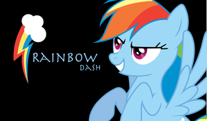 Rainbow Dash Wallpaper by SlenderMare