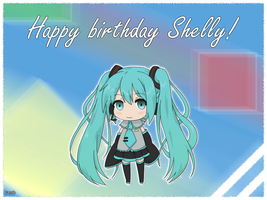 Happy birthday for Shelly by JacobMainland