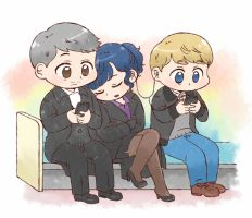 [BBC SHERLOCK] Love triangle by twosugars16