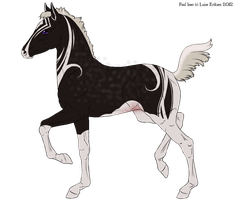 6153 No Strings Attached Foal Design by LittleLace