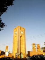 Jame mosque clock tower 1 by zohreh1991