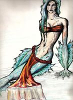 Lady of the deep by badash13
