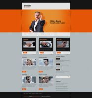 Free Website Template by rafimit