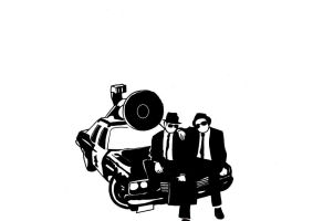 the blues brothers by Bartok88