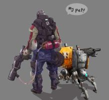 my pet by M3W4gunner