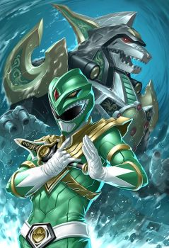 green ranger by Lexgunz741