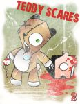 TEDDY SCARES by Artist-MarcusAlley