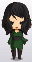 Jade/Cheshire Chibi. by youngjusticewriter
