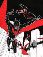 Batman Beyond by jasonbaroody
