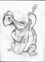 Bass Turtle by MJBivouac