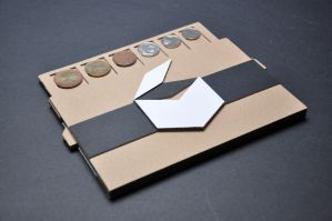Coin organizer (promotional product) by Salvenius
