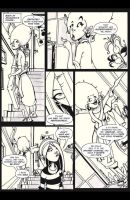Pink Power 2 page 2 Lineart by HCMP
