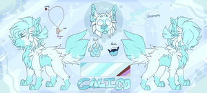 Caligo - Commission REF by Choco-Floof