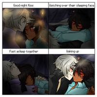 Couples Night Meme Redraw by SolitaryHideAndSeek