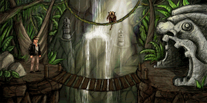 Game Background - Jungle by kaio89