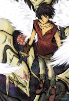 Van and the Escaflowne by mind-crash