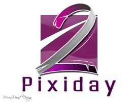 Pixiday 2 logo by moonwound