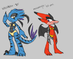 Dino adoptables SOLD by threshii