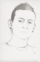chester bennington by mybirdy
