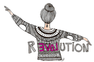 Muneca Vintage revolution by AannieVasEditions