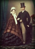 Prince and Princess Louis of Hesse, 1862 by KraljAleksandar