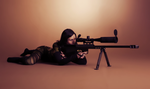 female sniper stock by Just-Say-NAY