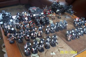 All of my Black Templar Units by CharlieMcElroy5
