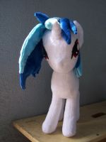 Vinyl Scratch / DJ Pon3 forward view by WhiteAntCrawls