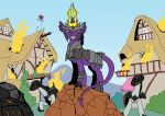 The destructor of Ponyville by Godforoth