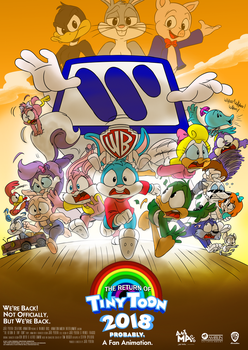 The Return of Tiny Toon | Newer Poster by joaoppereiraus
