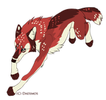 Wolf Adoptable 100pts by objectual
